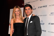 "Heather Graham and Zac Efron attend the Cinema Society & Bally screening of Sony Pictures Classics' ""At Any Price"" at Landmark Sunshine Cinema on April 18, 2013 in New York City."
