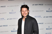 "Jason Dundas attends the Cinema Society & Bally screening of Sony Pictures Classics' ""At Any Price"" at Landmark Sunshine Cinema on April 18, 2013 in New York City."