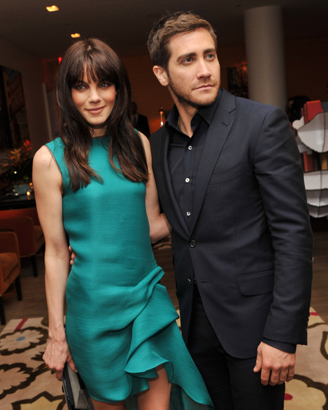 "Actors Michelle Monaghan and Jake Gyllenhaal attend the Cinema Society & Coach screeing of ""Source Code"" at the Crosby Street Hotel on March 31, 2011 in New York City."