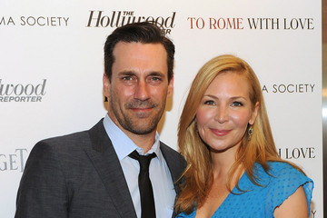 """Jon Hamm Jennifer Westfeldt The Cinema Society With The Hollywood Reporter & Piaget Host A Special Screening Of """"To Rome With Love"""" - Arrivals"""