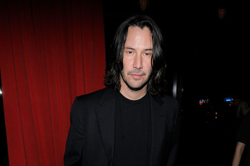 Keanu Reeves The Cinema Society Hosts The After Party For The Private Lives Of Pippa Lee