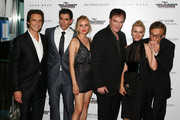 "(L-R) Producer Lawrence Bender, actor Eli Roth, actress Diane Kruger, writer/director Quentin Tarantino, actress Melanie Laurent and actor Christopher Waltz attend the Cinema Society and Hugo Boss screening of ""Inglourious Basterds"" at the SVA Theater on August 17, 2009 in New York City."