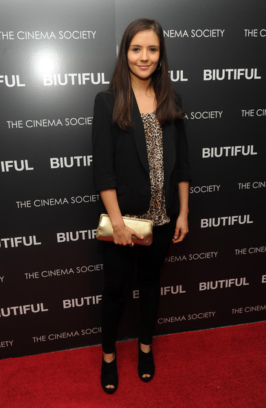 "Actress Catalina Sandino Moreno attends a screening of ""Biutiful"" hosted by the Cinema Society with Miuccia Prada, Sandra Brant & Ingrid Sischy at the Lighthouse Theater on December 1, 2010 in New York City."
