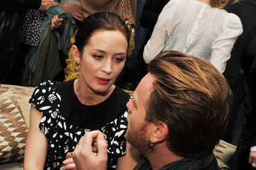 """Emily Blunt Ewan McGregor The Cinema Society & Opium Yves Saint Laurent Host A Screening Of """"Salmon Fishing In The Yemen"""" - After Party"""