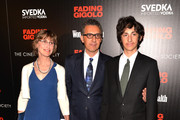 "Katherine Borowitz, John Turturro and Diego Turturro attend the Millennium Entertainment's ""Fading Gigolo"" screening hosted by The Cinema Society and Women's Health at SVA Theater on April 11, 2014 in New York City."