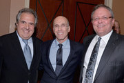 """20th Century Fox CEO and Chairman Jim Gianopulos, DreamWorks Animation CEO Jeffrey Katzenberg and AMC Entertainment CEO Gerry Lopez attend 2014 Will Rogers """"Pioneer of the Year"""" Dinner Honoring Tom Sherak during CinemaCon, the official convention of the National Association of Theatre Owners, at Caesars Palace on March 26, 2014 in Las Vegas, Nevada."""