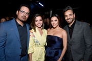 (L-R) Michael Peña, Isabela Moner, Eva Longoria, and Eugenio Derbez attend CinemaCon 2019- Paramount Pictures Invites You to an Exclusive Presentation Highlighting Its Upcoming Slate at The Colosseum at Caesars Palace during CinemaCon, the official convention of the National Association of Theatre Owners, on April 4, 2019 in Las Vegas, Nevada.
