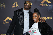 Snoop Dogg and Shante Broadus attend Ciroc Celebrates DJ Khaled's Birthday in Beverly Hills on December 2, 2017 in Beverly Hills, California.