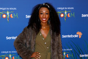 "Beverley Knight attends the Cirque du Soleil Premiere Of ""TOTEM"" at Royal Albert Hall on January 16, 2019 in London, England."