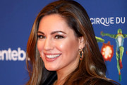 """Kelly Brook attends the Cirque du Soleil Premiere Of """"TOTEM"""" at Royal Albert Hall on January 16, 2019 in London, England."""