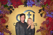 President and CEO of Big Machine Label Group Scott Borchetta (L) and SVP Creative, Big Machine Label Group at Big Machine Records, Sandi Spika Borchetta attend the Citi Celebrates 2016 Billboard Power 100 on February 12, 2016 in Los Angeles, California.