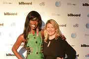 Director of cultural branding, music and entertainment at PepsiCo Bozoma Saint John and owner of Mac Presents Marcie Allen attend Citi And AT&T Present The Billboard After Party at The London Hotel on February 10, 2013 in West Hollywood, California.