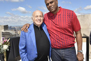 Jon Platt and Doug Morris attend the City Of Hope - Sylvia Rhone Spirit Of Life Kickoff Breakfast In New York on June 14, 2019 in New York City.