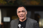 "Jimmy Smits attends a ceremony Proclaiming September 7, 2018 as official ""Step Up To Cancer"" Day In Los Angeles at Los Angeles City Hall on August 29, 2018 in Los Angeles, California."