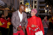 (L-R) Terry Crews and Rebecca King-Crews attend City Year Los Angeles' Spring Break: Destination Education at Sony Studios on May 04, 2019 in Los Angeles, California.