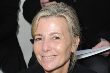 Claire Chazal Front Row at the Christian Dior Show