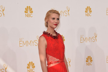 Claire Danes Arrivals at the 66th Annual Primetime Emmy Awards — Part 2