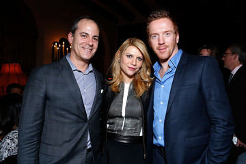 Claire Danes Damian Lewis Dinner in Celebration of SHOWTIME'S 2013 Golden Globe Nominees