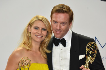 Claire Danes Damian Lewis 64th Annual Primetime Emmy Awards - Press Room