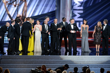Claire Danes Damian Lewis 64th Annual Primetime Emmy Awards - Show