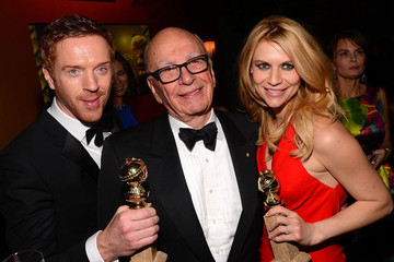 Claire Danes Damian Lewis Fox Honors Their 70th Annual Golden Globe Awards Nominees And Winners At The Fox Pavilion At The Golden Globes - Inside