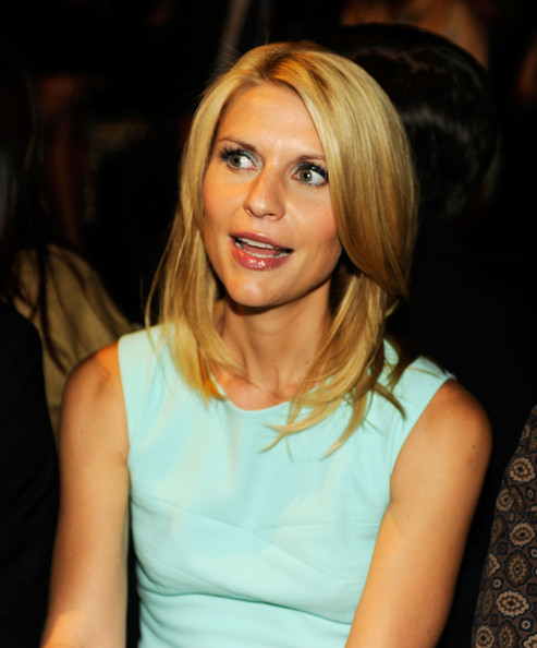 claire danes actress claire danes attends the narciso rodriguez spring ...