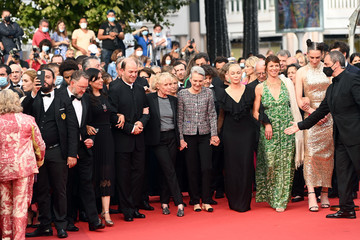 """Claire Denis """"Les Intranquilles (The Restless)"""" Red Carpet - The 74th Annual Cannes Film Festival"""