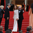 Claire Denis 'The Meyerowitz Stories' Red Carpet Arrivals - The 70th Annual Cannes Film Festival
