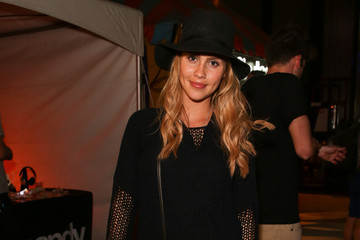 Claire Holt NYLON And Olay Fresh Effects Present Neon Carnival With GUESS