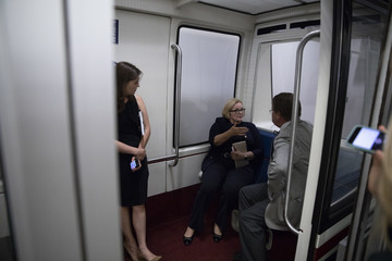 Claire McCaskill Congress Gears Up For Confirmation Battle For New Supreme Court Nominee