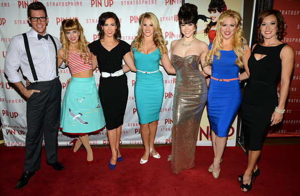 'Pin Up' Show Premieres in Las Vegas