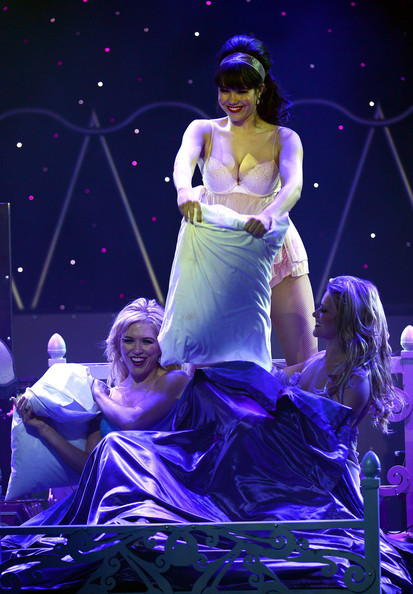 'Pin Up' Show Premieres in Las Vegas 2
