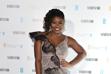 Clara Amfo Vanity Fair EE Rising Star BAFTAs Pre Party - Red Carpet Arrivals