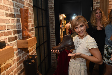 Clare Bowen Grand Opening Of FRYE Nashville Sponsored By Gibson