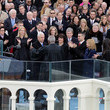 Clarence Thomas Donald Trump Is Sworn In As 45th President Of The United States