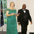 Clarence Thomas Guests Arrive For State Dinner At The White House Honoring Australian PM Morrison