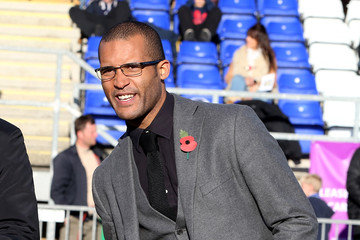 Clarke Carlisle Bishop's Stortford v Northampton Town - FA Cup First Round
