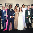 Clarke Peters 24th Annual Screen Actors Guild Awards - Press Room