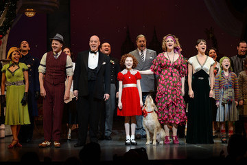 "Clarke Thorell ""Annie"" Broadway Opening Night - Arrivals And Curtain Call"