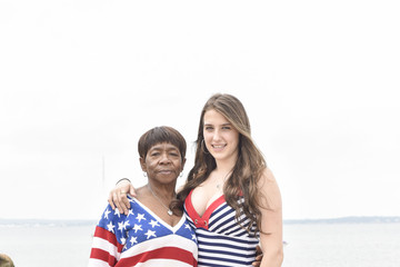 Claudette Darrel Guests Celebrate the Fourth of July in East Hampton