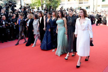 Claudia Cardinale 'Girls Of The Sun (Les Filles Du Soleil)' Red Carpet Arrivals - The 71st Annual Cannes Film Festival