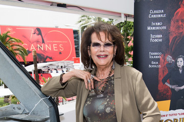 Claudia Cardinale 'Nobili Bugie' Photocall - The 70th Annual Cannes Film Festival