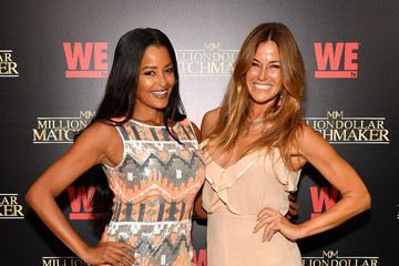 Claudia Jordan WE tv's Exclusive Premiere of 'Million Dollar Matchmaker' Season 2