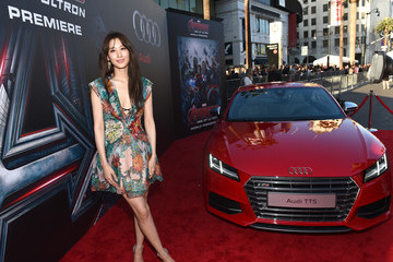 Claudia Kim Audi Arrivals at The World Premiere of 'Avengers: Age Of Ultron'