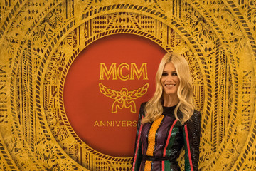 Claudia Schiffer MCM 40th Anniversary in Munich