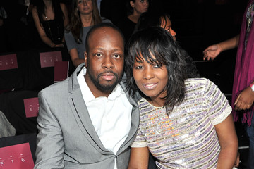 Family photo of the musician, married to Claudenette Jean , famous for Fugees.