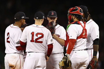 Clay Buchholz Division Series - Cleveland Indians v Boston Red Sox - Game Three