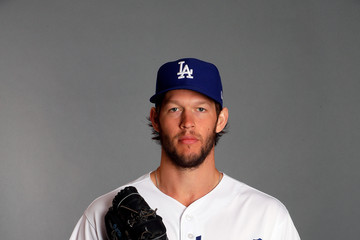Clayton Kershaw Los Angeles Dodgers Photo Day