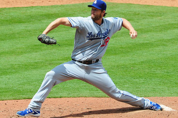 Clayton Kershaw Los Angeles Dodgers v Atlanta Braves