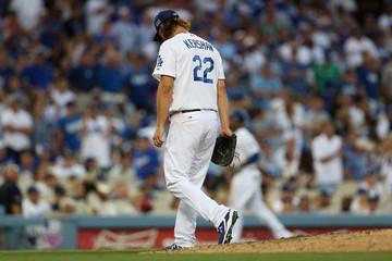 Clayton Kershaw St Louis Cardinals v Los Angeles Dodgers